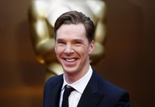Cumberbatch presented an award
