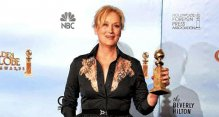 Meryl Streep wins the Golden