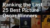 Ranking the last 25 Oscar