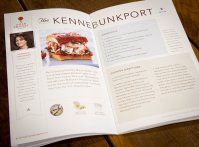 The recipe book features the
