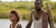 Academy Award nominee Quvenzhane Wallis (l.) and Dwight Henry in 'Beasts of the Southern Wild.'
