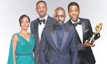 Jada Pinkett-Smith, Will Smith, Idris Elba, Chris Rock