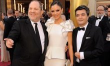 Oscars 2012: Harvey Weinstein, Georgina Chapman, Thomas Langmann