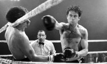 Raging Bull film still with Robert de Niro as Jake LaMotta