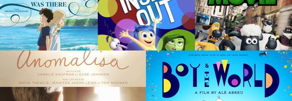 Animated movies nominated for Oscars