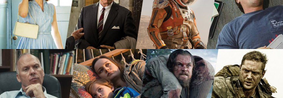 Best movies Oscar nominations