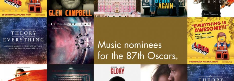 Best Song Oscar nominations 2015