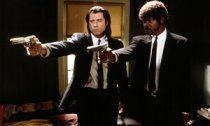 Still from Pulp Fiction starring John Travolta and Samuel Jackson
