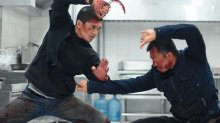 The Raid 2 knife fight