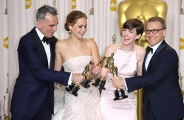 Last year Oscar winners 2013