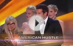 20th SAG Awards Acceptance Speech | American Hustle, Cast