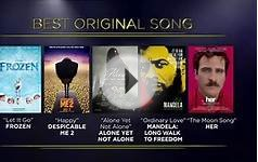 Academy Awards 2014 Oscar Nominations
