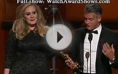 Adele best song acceptance speech Academy Awards 2013 [HD]