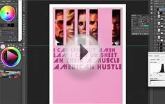 American Hustle 2014 Oscar Best Picture Poster Speed