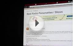 Awards Howard Stern Voted Top Radio Host! List from 1-20
