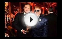 Best Actor Oscar winner Leonardo DiCaprio enjoy with