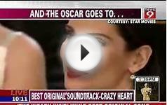 BEST ACTRESS OSCAR AWARD SANDRA BULLOCK