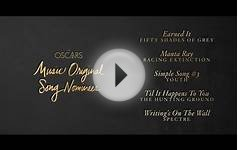 Best Original Song Nominations of the 88th Academy Awards