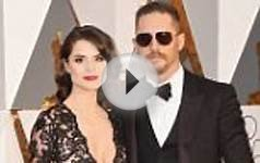 Best Supporting Actor nominee Tom Hardy rocks aviators and