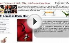 Best TV Shows Series Films of 2013 - 2014 Top 20 List
