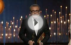 Christoph Waltz wins Oscar for Best Supporting Actor (2013)
