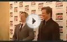 Gary Oldman and Colin Firth at the Empire Awards