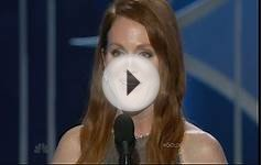 Golden Globes 2015 best actress winner Julianne Moore gets