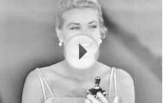 Grace Kelly Accepts the Best Actress Oscar