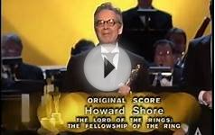 Howard Shore Wins Original Score: 2002 Oscars