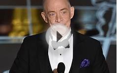 J.K. Simmons wins his first Oscar for best supporting actor