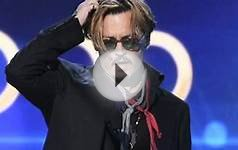 Johnny Depp Drunk Speech At Hollywood Film Awards 2014
