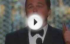 Leonardo DiCaprio wins his first Oscar, 2016 Best Actor