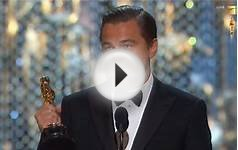 Leonardo Dicaprio WINS Oscar 2016 | Best Actor