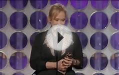 Meryl Streep - Golden Globe Best Actress Speech 2012