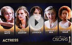 Oscar 2013: Best actress nominees