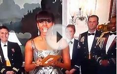 "OSCAR 2013: Michelle Obama announces ""ARGO"" Best Movie"