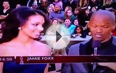 OSCAR Academy Awards 2013 Jamie Foxx and daughter on the