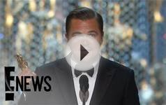 Oscar Award Video List: Leonardo DiCaprio, Alicia Vikander
