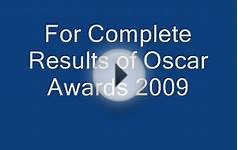 Oscar Awards 2009 Results