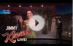 Oscar Winner Alicia Vikander LIVE from the Governors Ball