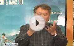 Oscar winner Ang Lee & actor Suraj Sharma on LIFE OF PI