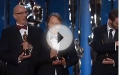Oscars 2015: Canadian Chris Williams Wins Best Animated