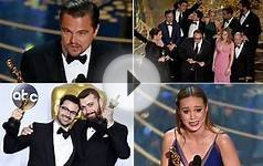 Oscars 2016: highlights from Academy Awards
