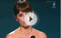 PENELOPE CRUZ WINS BEST SUPPORTING ACTRESS AT OSCARS 2009