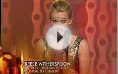 Reese Witherspoon Wins Best Actress Motion Picture Musical