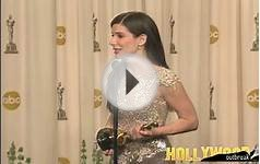 Sandra Bullock Wins Leading Actress Oscar