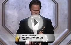The Lives of Others Wins Foreign Language Film: 2007 Oscars