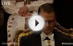The Nobel Prize Award Ceremony 2014 Full Live HD Video