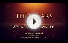 The Oscars 2015 | 87th Academy Awards - Best picture